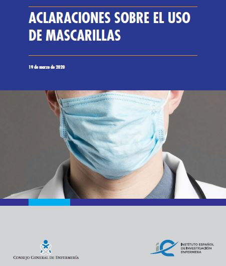 Descargar informe aclaraciones sobre el uso de mascarillas