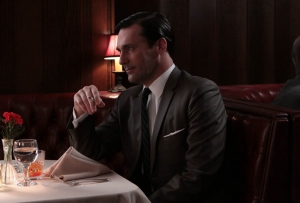 Don Draper (Jon Hamm) en Mad Men. Foto de Carin Baer (AMC)