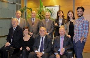 Representantes del Foro de la Profesión Médica