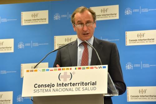 Ministro de Sanidad en funciones, Alfonso Alonso