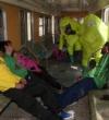Enfermeros preparados para enfrentarse a un ataque terrorista con bomba química
